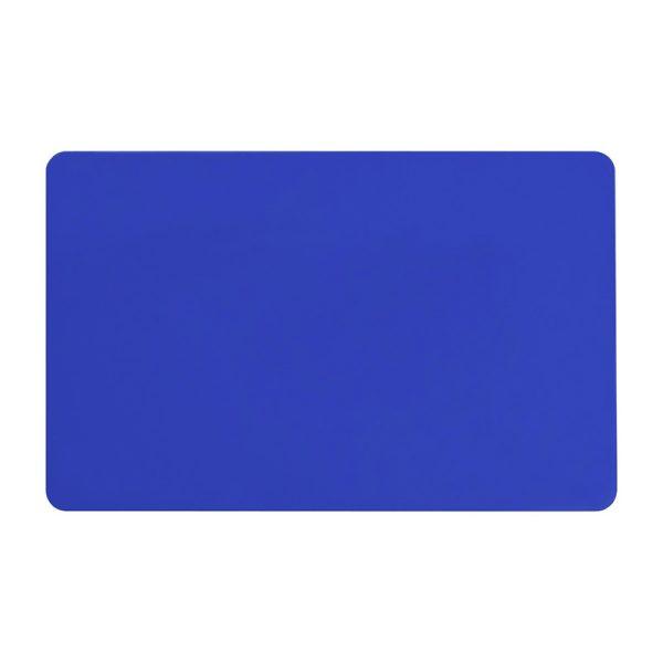 کارت خام pvc آبی متالیک