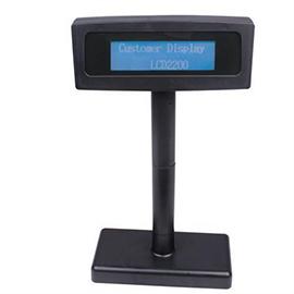 نمایشگر مشتری LCD مشکی