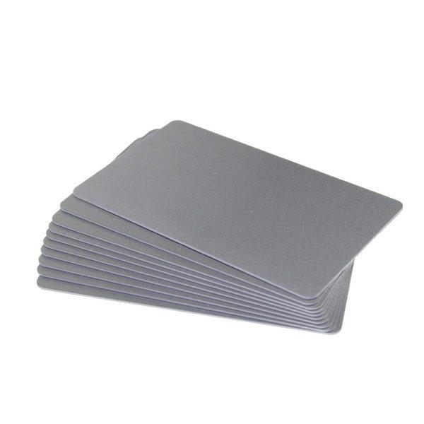 کارت پی وی سی خام سفید صدفی