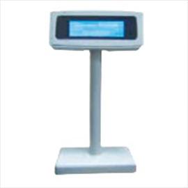 نمایشگر مشتری LCD سفید