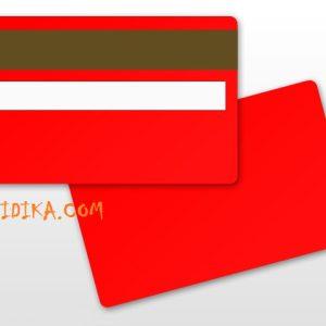 کارت پی وی سی قرمز