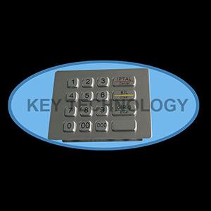 کیبورد فلزی متال IP65 مدل AC