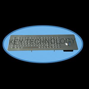 کیبورد فلزی متال IP65 مدل FN