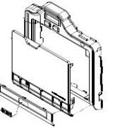 پنل کامل قاب جلو فارگوHDP5000
